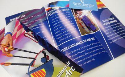 flyers escola catalana de tir amb arc